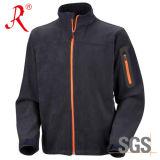 Venda a quente homens Wearproof Softshell Jacket respirável (QF-435)