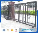 Alta calidad corrediza Puerta de hierro forjado con precio competitivo