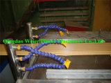 Decking de WPC que hace la máquina