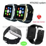 Montre intelligente de système Bluetooth 4.0 de Mtk2502c avec la fréquence cardiaque Gt88
