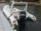 Liya 6.6mの贅沢のヨットのガラス繊維の外皮の肋骨のボートの膨脹可能なヨット