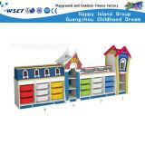 Armoire de stockage de jouets de jeu pour enfants de maternelle Ensembles de meubles hc-3304