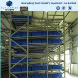 Armazém de rolos de aço gravidade deslize para Palete Flow Rack de armazenamento