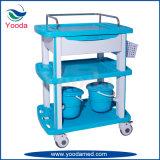 ABS Krankenhaus-Produkt-Ausrüstungs-Krankenpflege-Laufkatze