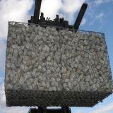 2014 La Chine enduit de PVC maille hexagonale de fer de gabions