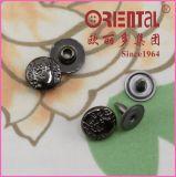 Nickel nero 10mm Cap Rivet