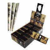 Papel de balanceo impreso aduana del tabaquismo