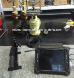 Cumputer 통제되는 테스트 시스템을%s 가진 안전 밸브를 위한 휴대용 온라인 검사자