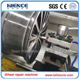 高精度のアルミ合金の車輪修理CNCの旋盤の縁修理機械Awr2840PC