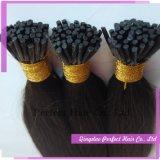 Weave direto do cabelo humano do Sell 100 da fábrica com ponta colorida