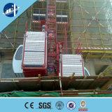 Preço 2017 do elevador da construção da grua do edifício da grua da construção de China