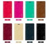 Le mercure cuir synthétique cas Téléphone cellulaire pour Galaxy S9