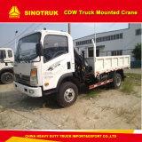 Cnhtc Cdw 5 tonnes de grue de grue de boum/camion montés par camion (capacité de levage : 3.5T)