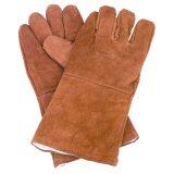 Gants de soudure en cuir fendus pour la sûreté d'ouvrier