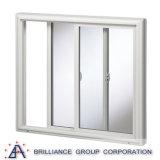 Finestra di scivolamento di alluminio/doppia finestra di scivolamento di Glzed