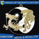 2017熱い販売のカスタム金属の金メダルの円形浮彫り