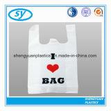 Напечатанная хозяйственная сумка несущей HDPE пластичная