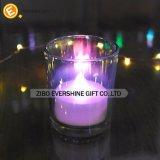 Freier Glaszylinder-Kerze-Halter