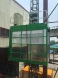 Maquinaria del elevador del edificio de la ingeniería de la alta calidad de la venta de dos cabinas