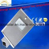 Integrierte alle in einem im Freien LED-Solarstraßenlaterne6W