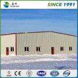 Projeto de armazém de estrutura de aço pré-engenharia de grande variedade
