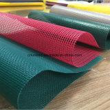 고강도 PVC 입히는 폴리에스테 메시 방수포 직물
