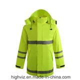 ANSI107標準の高い可視性雨ジャケット(C2441)
