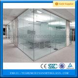 Jumbo Tamaño 12 mm de reparto vidrio templado transparente