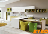 古典的な高いLaminated+ 2PACの食器棚(BY-L-119)
