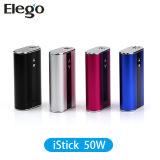 Modèle en gros d'Original Ecigarettes Eleaf Istick 50W avec 4400mAh Battery