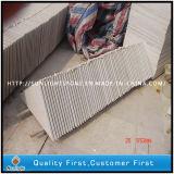 Mattonelle bianche del pavimento/parete della pietra per lastricati del granito della perla poco costosa di sconto
