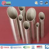 Tubes ovales soudés soudés en acier inoxydable Titanium-Plated Available