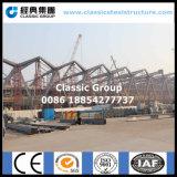 Construction en acier de grande belle exposition pour le port