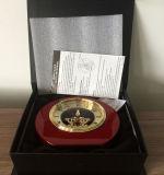 Orologio di vendita caldo popolare dello scrittorio per il kit di scheletro dell'orologio degli omaggi del ricordo del regalo K8003A di promozione