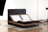 Elektrisches justierbares Bett des Spitzenverkaufs-2016 mit Massage-drahtlosem Fernsteuerungs
