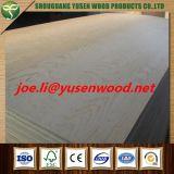 La radiación de contrachapado de madera de pino con certificado FSC