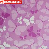 高品質の花のデザインによって塗られる表面の鋼鉄コイル