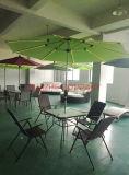 태양 정원 우산 LED 가벼운 우산 (Hz S71)를 가진 옥외 우산 양산