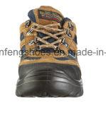Ботинки безопасности кожи замши типа Jogger безопасности ботинок работы спорта с стальным пальцем ноги