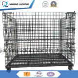 販売のための頑丈なロジスティクスの鋼線の網の大箱