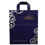 CPE de plástico de doble capa de plástico asa bolsas para regalo promocional (FLL-8381)