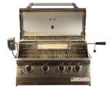 Роскошный остров BBQ! ! 304 нержавеющая сталь Bulit в решетке BBQ газа с печью пиццы, ящиком, раковиной