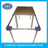 家具はプラスチック部品を形成する角のプラスチック注入を台に置く