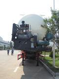 60m3 V forme ciment vraquier/pétrolier de ciment en vrac Semi-Trailer