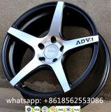 Adv1 côncavo orlara Adv da roda da liga do carro