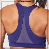 Asciugare il reggiseno d'abbigliamento di sport di copertura totale migliore della donna adatta degli abiti sportivi