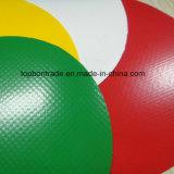 Material PVC Poli cobrir tenda encerado Branco bloqueie os tecidos de malha