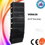 """Vera36는 이중으로 한다 12 """" 선 배열 DJ 사운드 시스템 가격"""