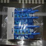 El PLC controla la embaladora horizontal disponible automática de la lámina que afeita
