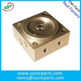 Niedriger Datenträger CNC-maschinell bearbeitende Aluminiumprodukte, die Aluminiumteile maschinell bearbeiten